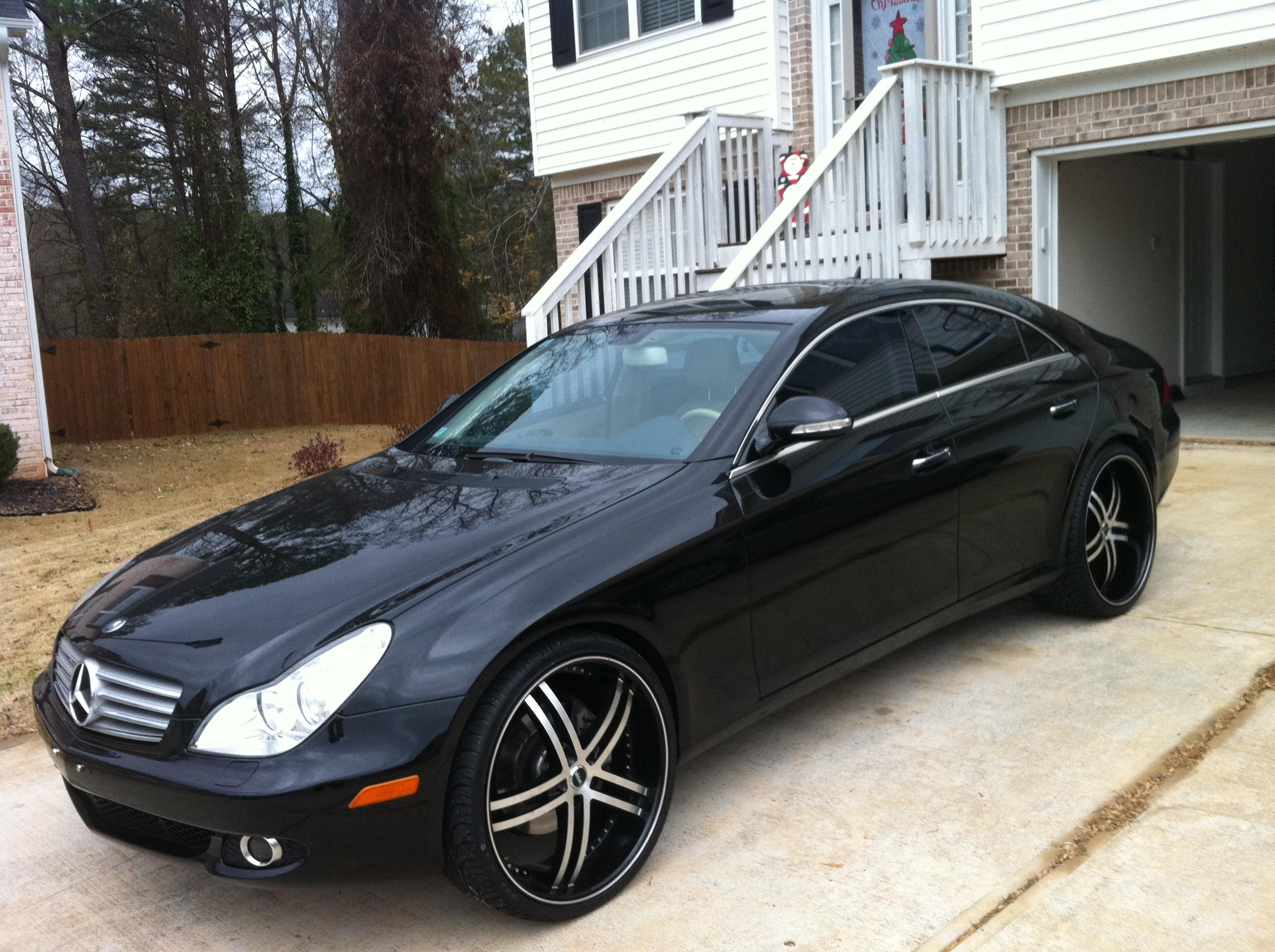 Killabenz23 2007 mercedes benz cls classcls550 coupe 4d for 2007 mercedes benz cls
