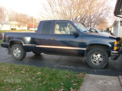 Ole Blue95s 1995 Chevrolet Silverado 1500 Extended Cab