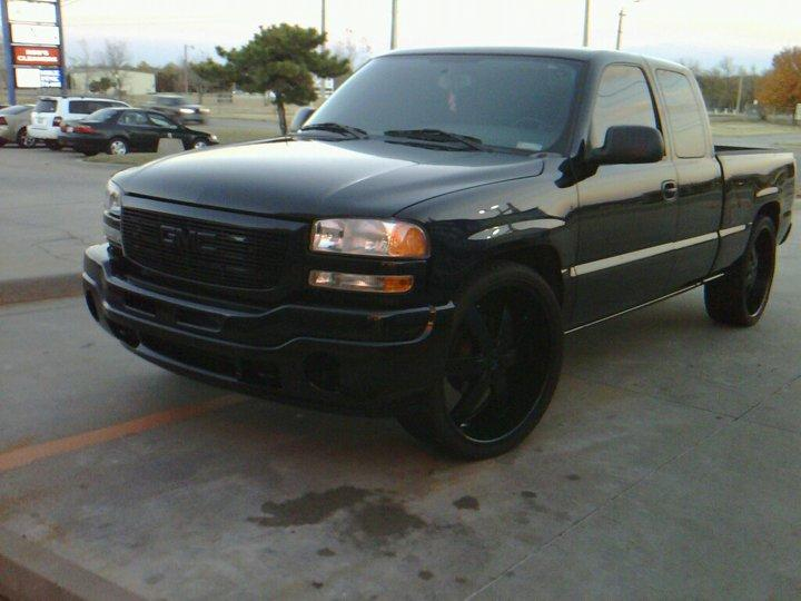 07murderedoutgmc 2007 gmc sierra classic 1500 extended cab specs photos modification info at. Black Bedroom Furniture Sets. Home Design Ideas