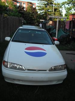 PEPSI98s 1995 Hyundai Scoupe