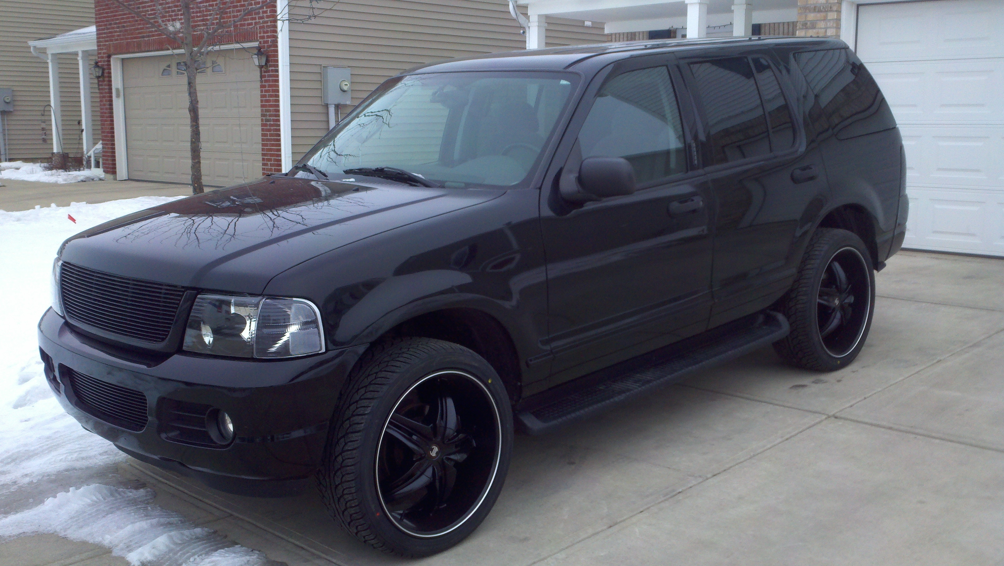 Blacked Out Explorer >> djacob 2005 Ford ExplorerLimited Sport Utility 4D Specs, Photos, Modification Info at CarDomain