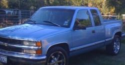 YELLAFELLA7 1997 Chevrolet 1500 Extended Cab