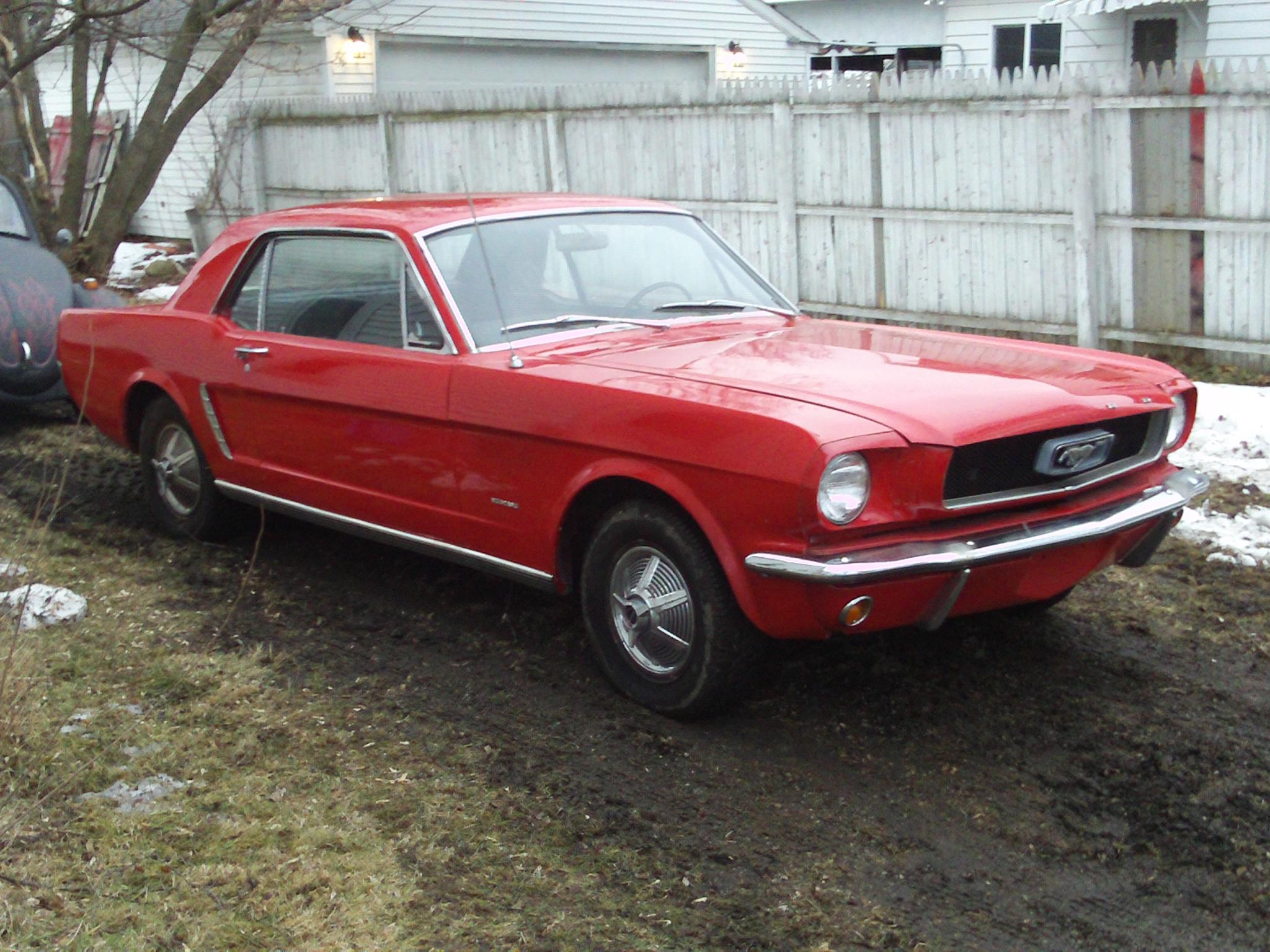 rev-it-up 1965 Ford Mustang