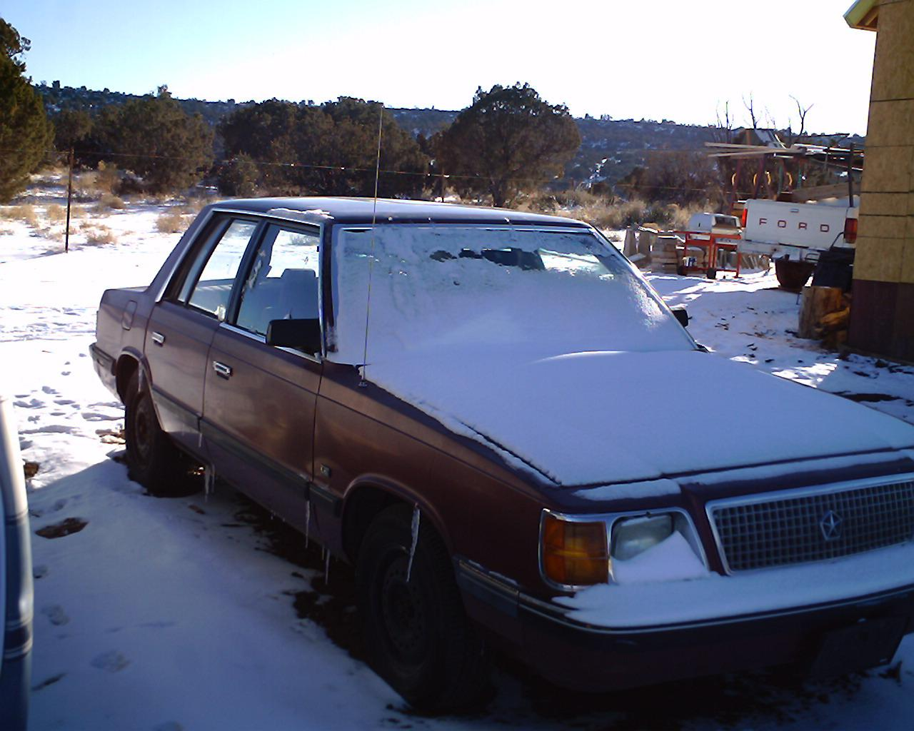 1987 Plymouth Reliant