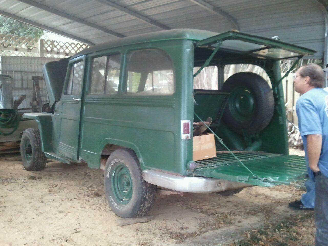dbjack's 1955 Willys Wagon