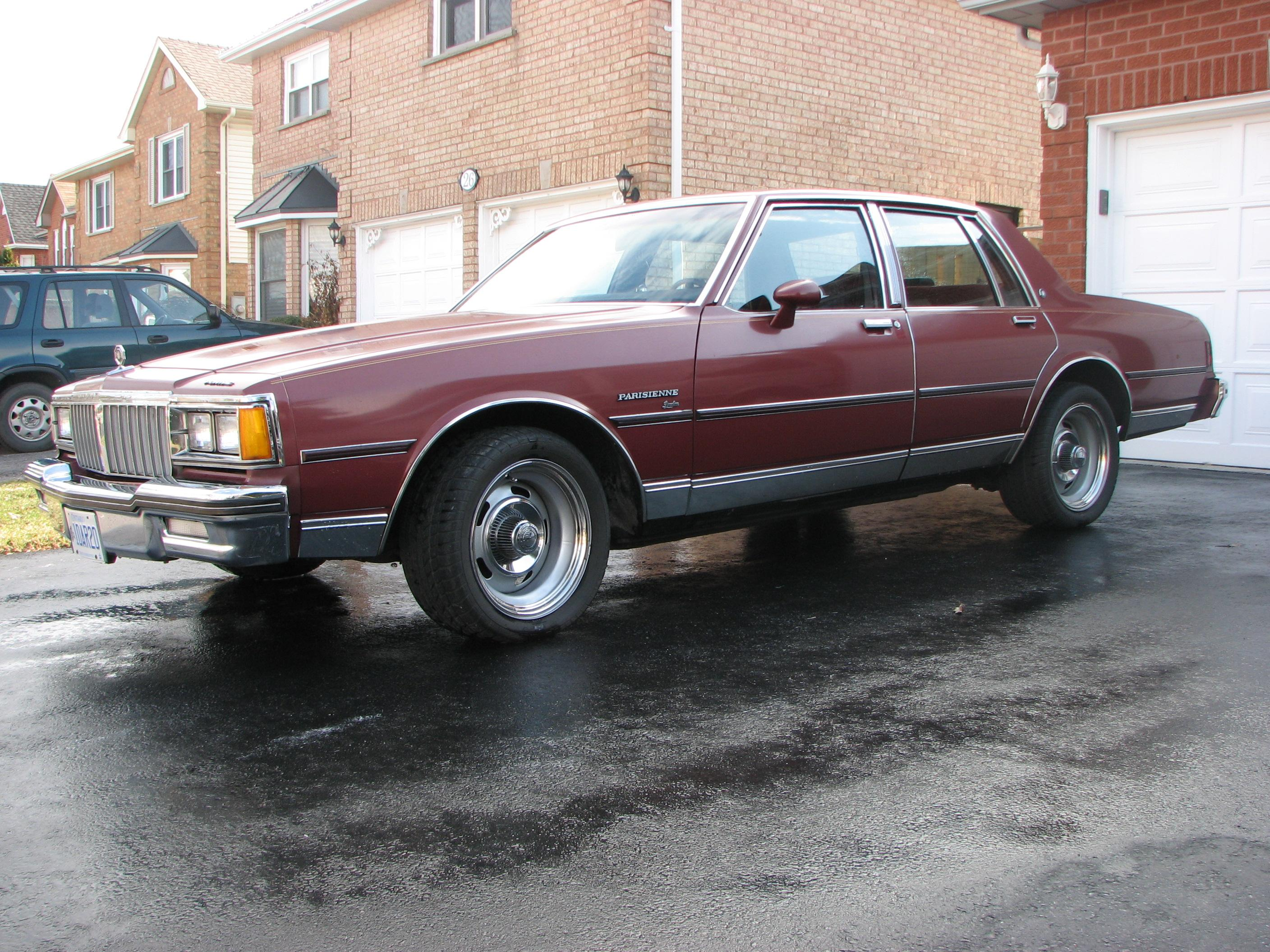 pontiacmuscle84 1984 Pontiac Parisienne Specs, Photos ...