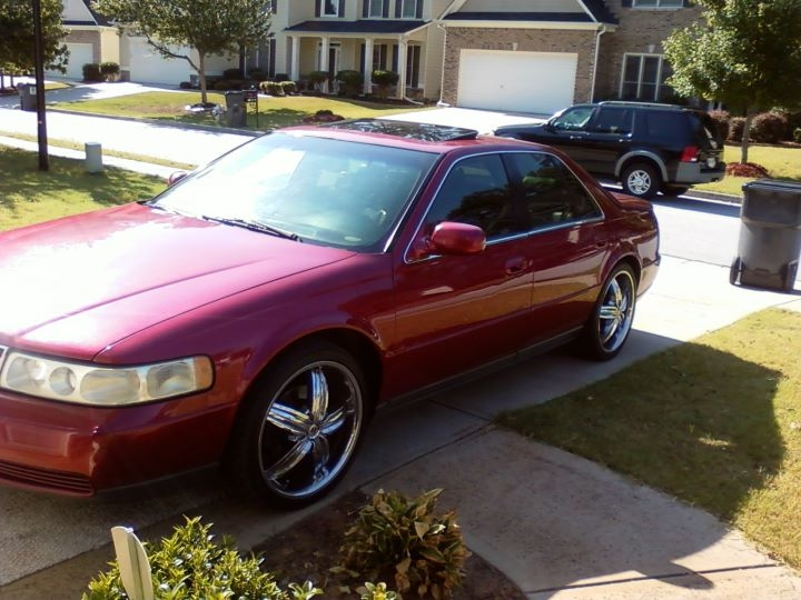 quartermile22 39 s 2000 cadillac seville sls sedan 4d in. Cars Review. Best American Auto & Cars Review