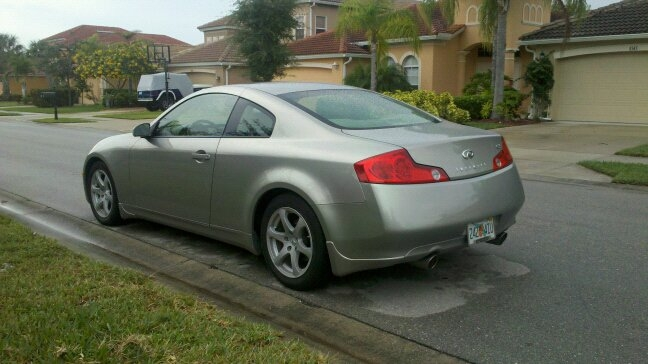 Another coombianhostile 2004 Infiniti G post... - 15008358