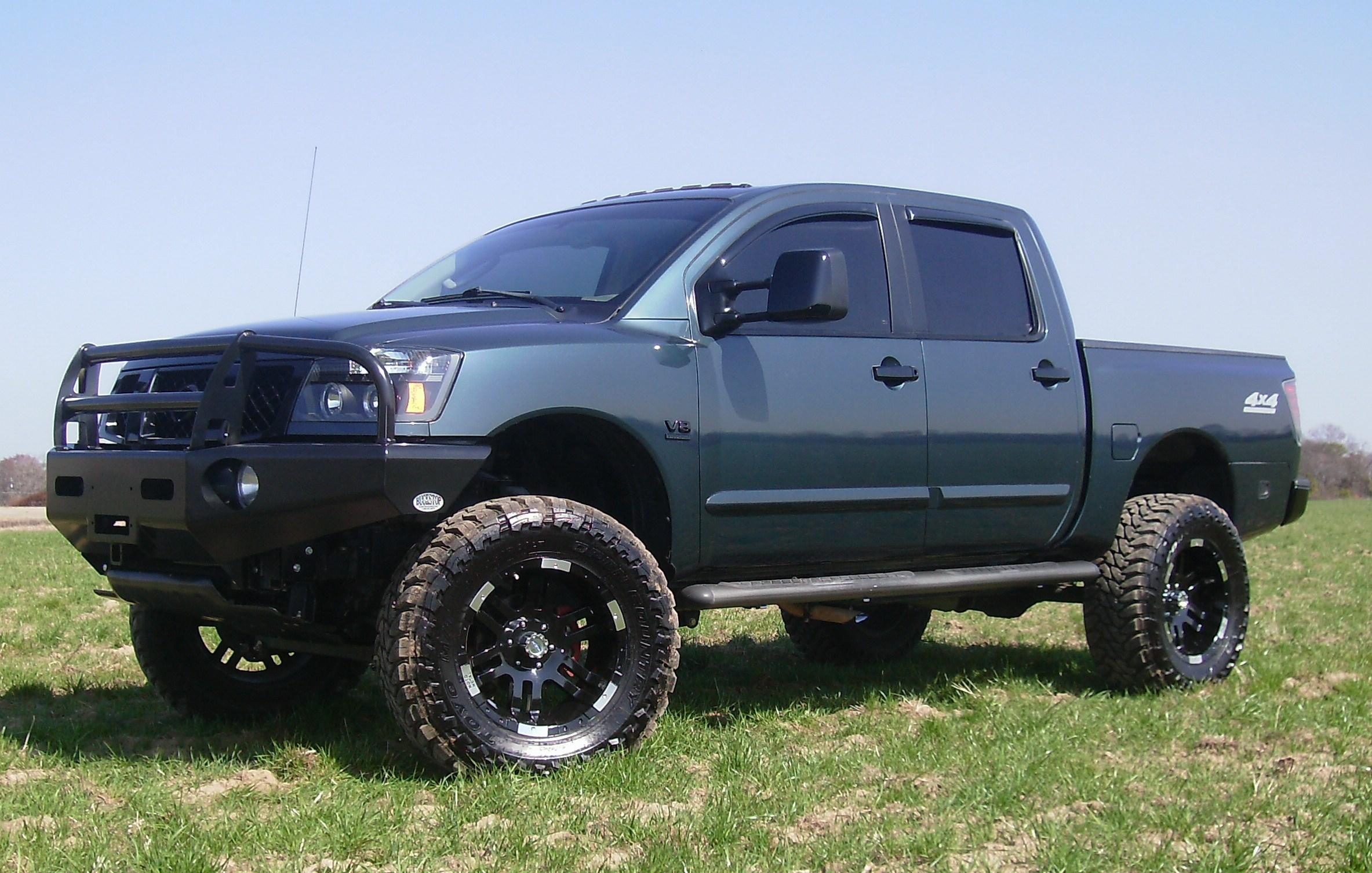 mcbreezy 2004 nissan titan crew cable pickup 4d 5 1 2 ft specs photos modification info at. Black Bedroom Furniture Sets. Home Design Ideas