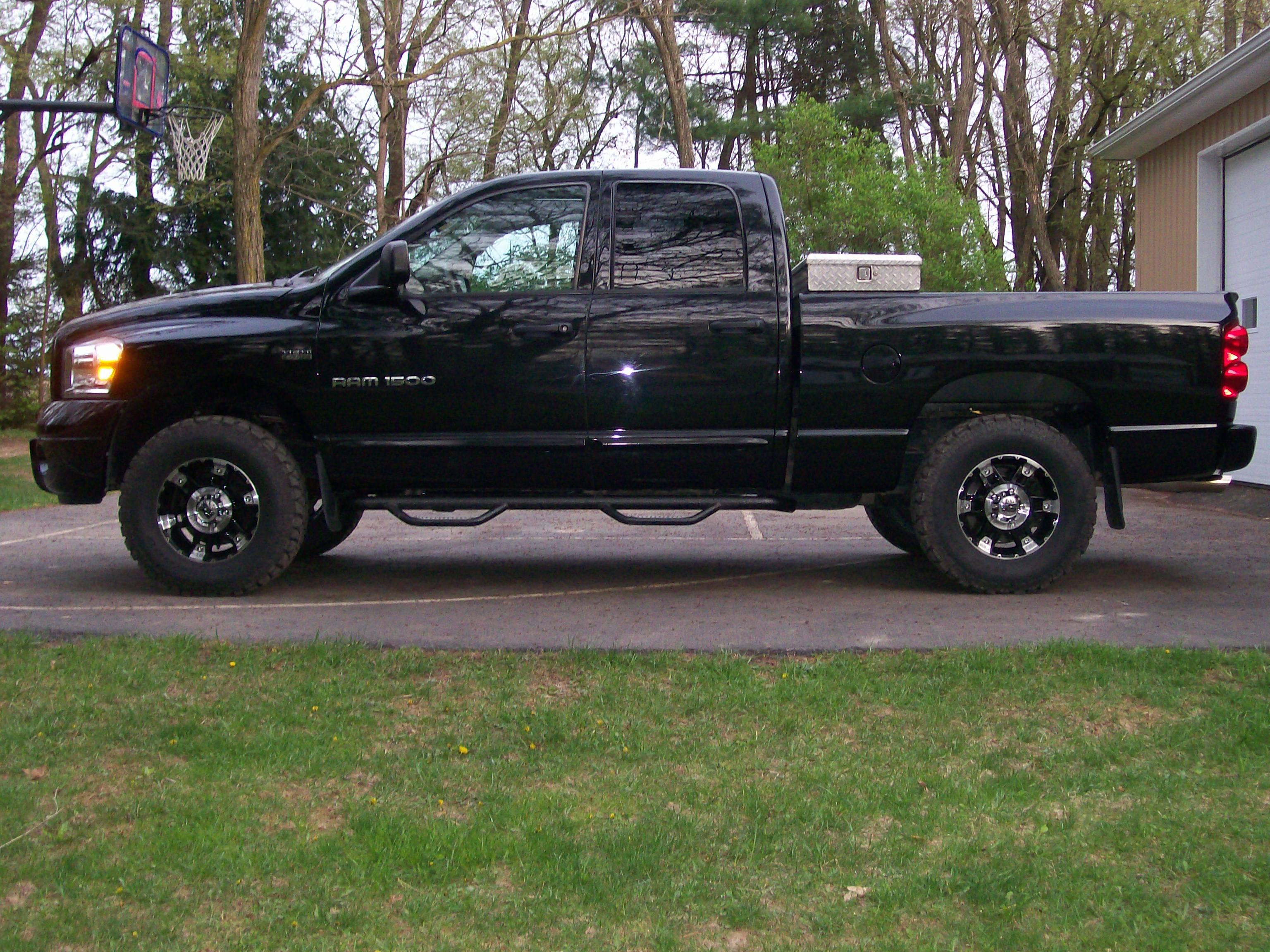 tks07ram 2007 dodge ram 1500 crew cab specs photos modification info at cardomain. Black Bedroom Furniture Sets. Home Design Ideas