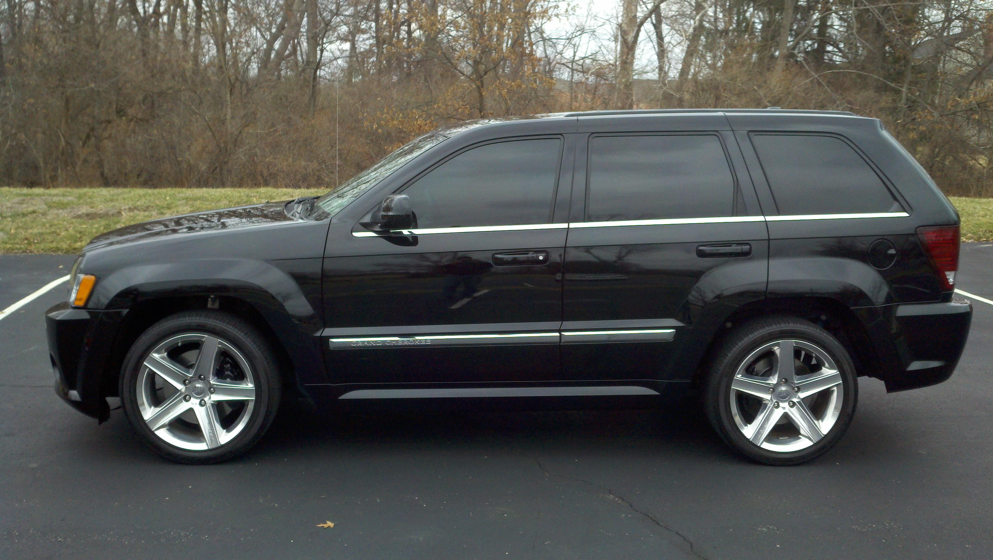 2007 jeep grand cherokee srt8 specs