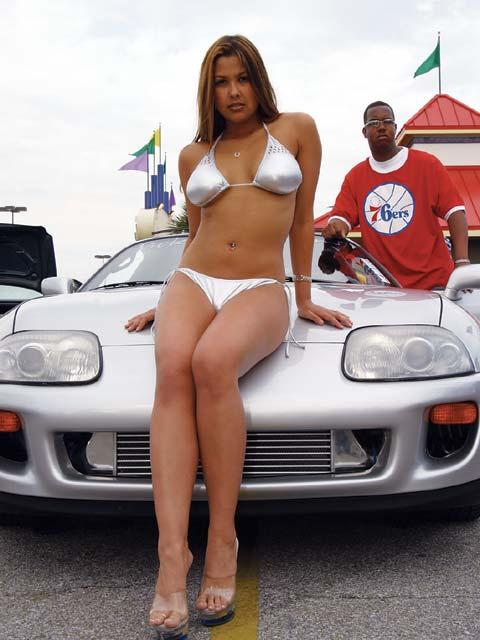 Toyota supra girl edit - 3 1