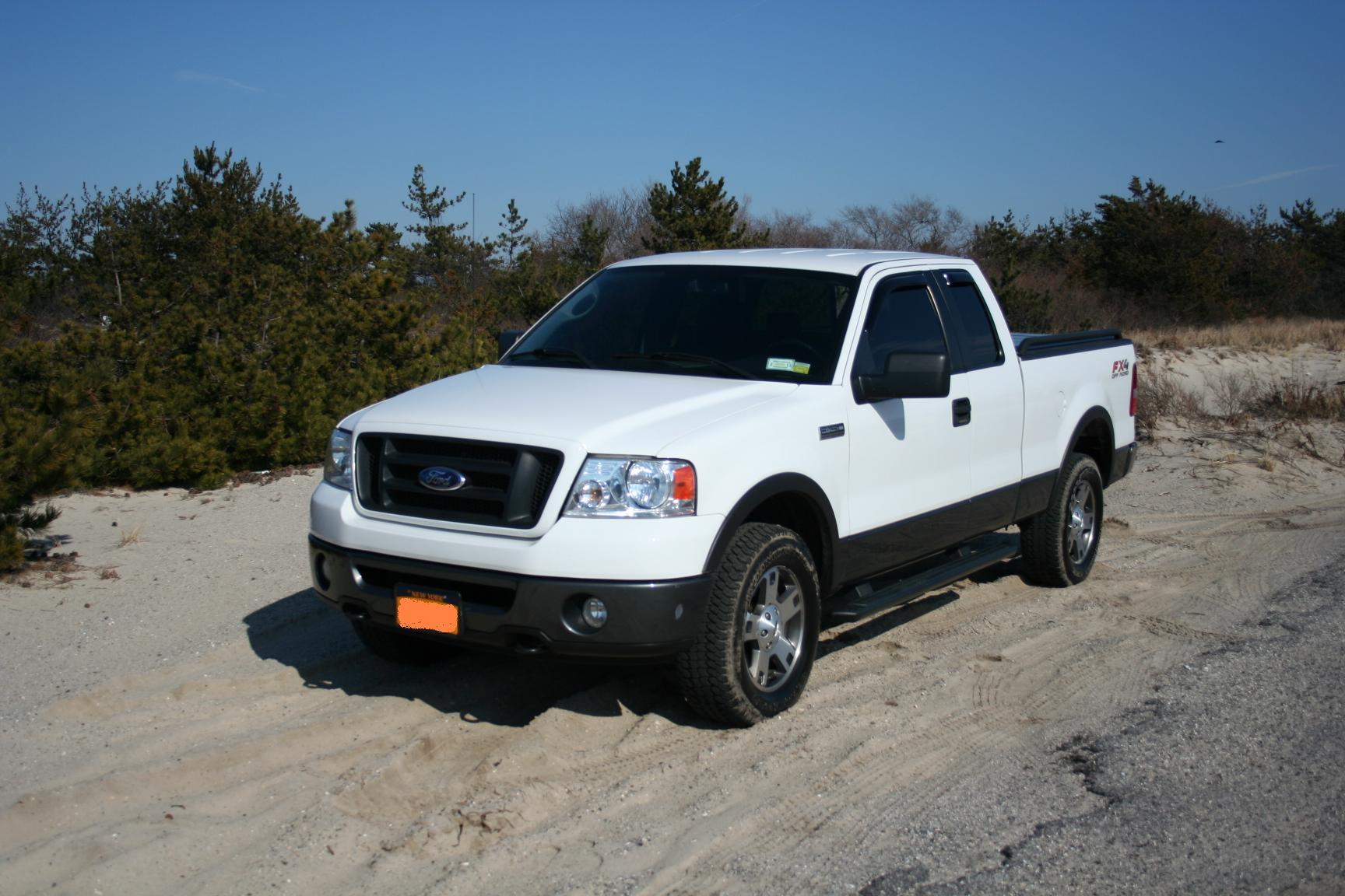 Jkstang78 2006 Ford F150 Super Cabfx4 Styleside Pickup 4d 6 1 2 Ft Specs Photos Modification Info At Cardomain