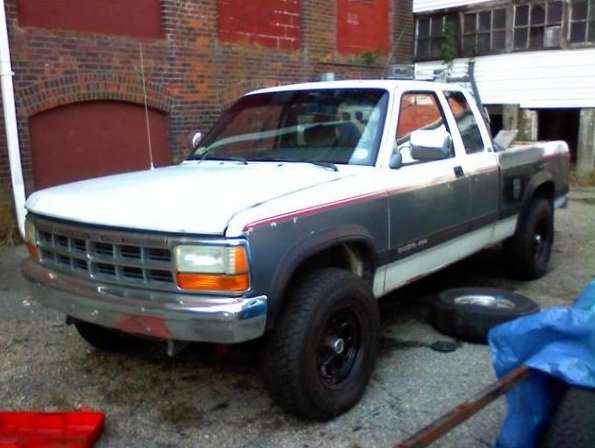 Original on 1997 Dodge Dakota Regular Cab