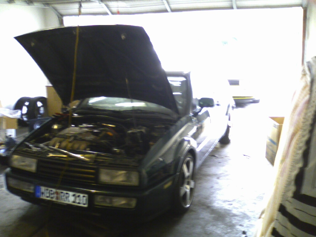We removed the turbo and sent