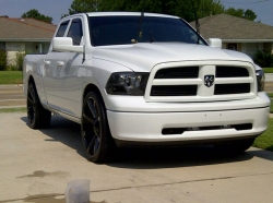 Pic Request Kmc Slide On White Truck Dodge Ram Forum