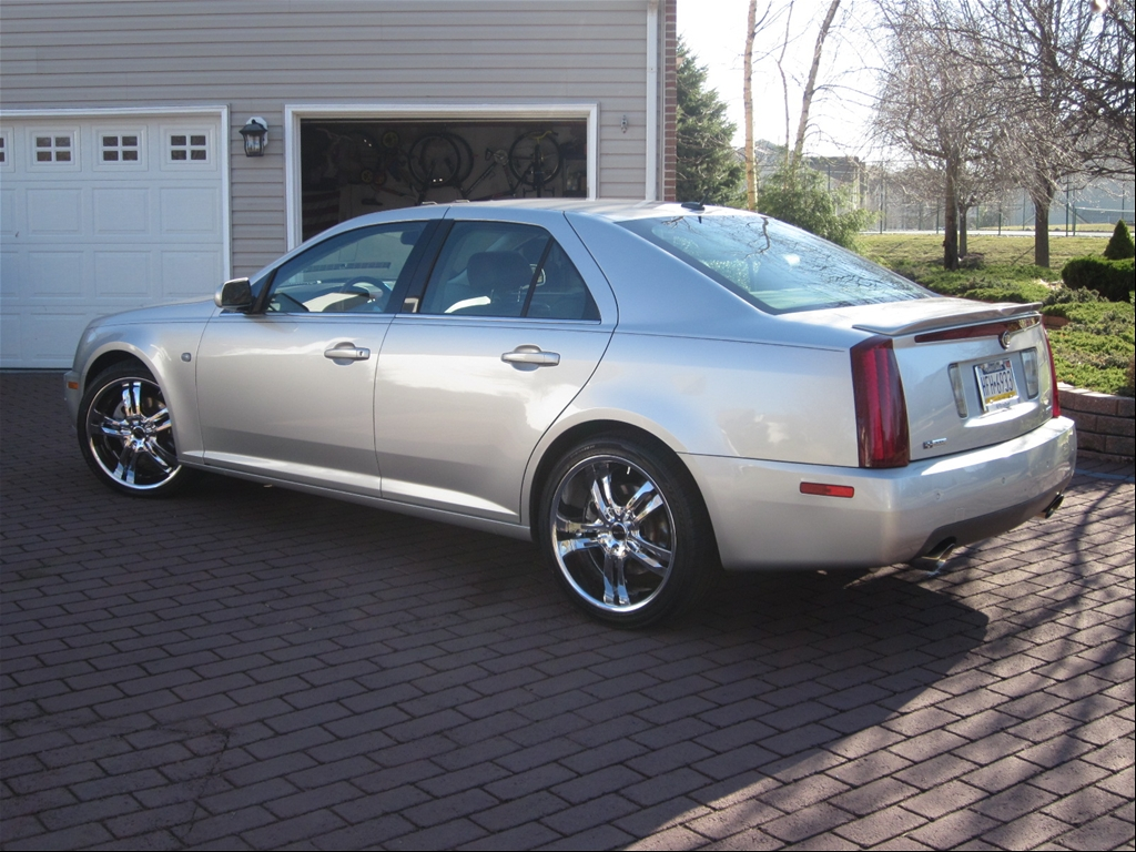 marsilio 39 s 2005 cadillac sts sedan 4d in royersford pa. Black Bedroom Furniture Sets. Home Design Ideas