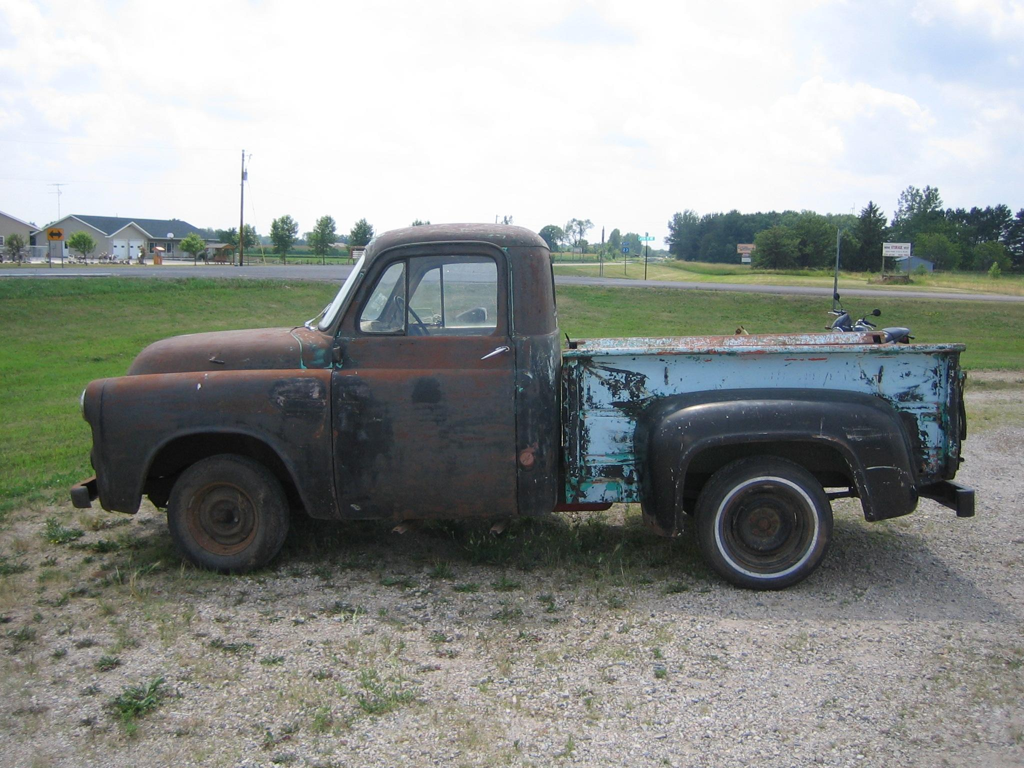 Superslant 1954 Dodge 100 Pickup Specs Photos Modification Info At Tow Truck 39111354001 Original