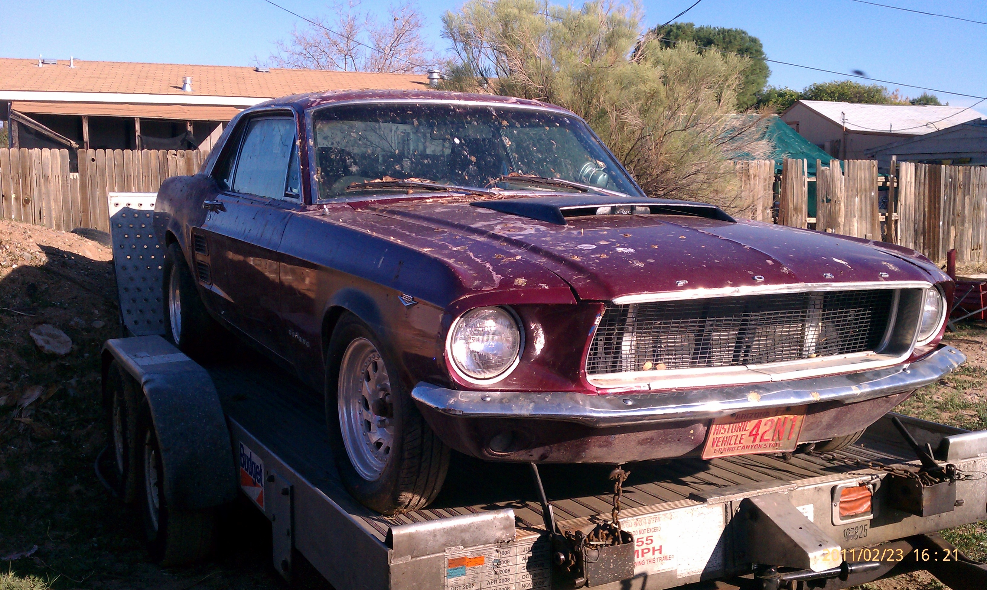 Another BlkBullet_Racing 1967 Ford Mustang post... - 15036242
