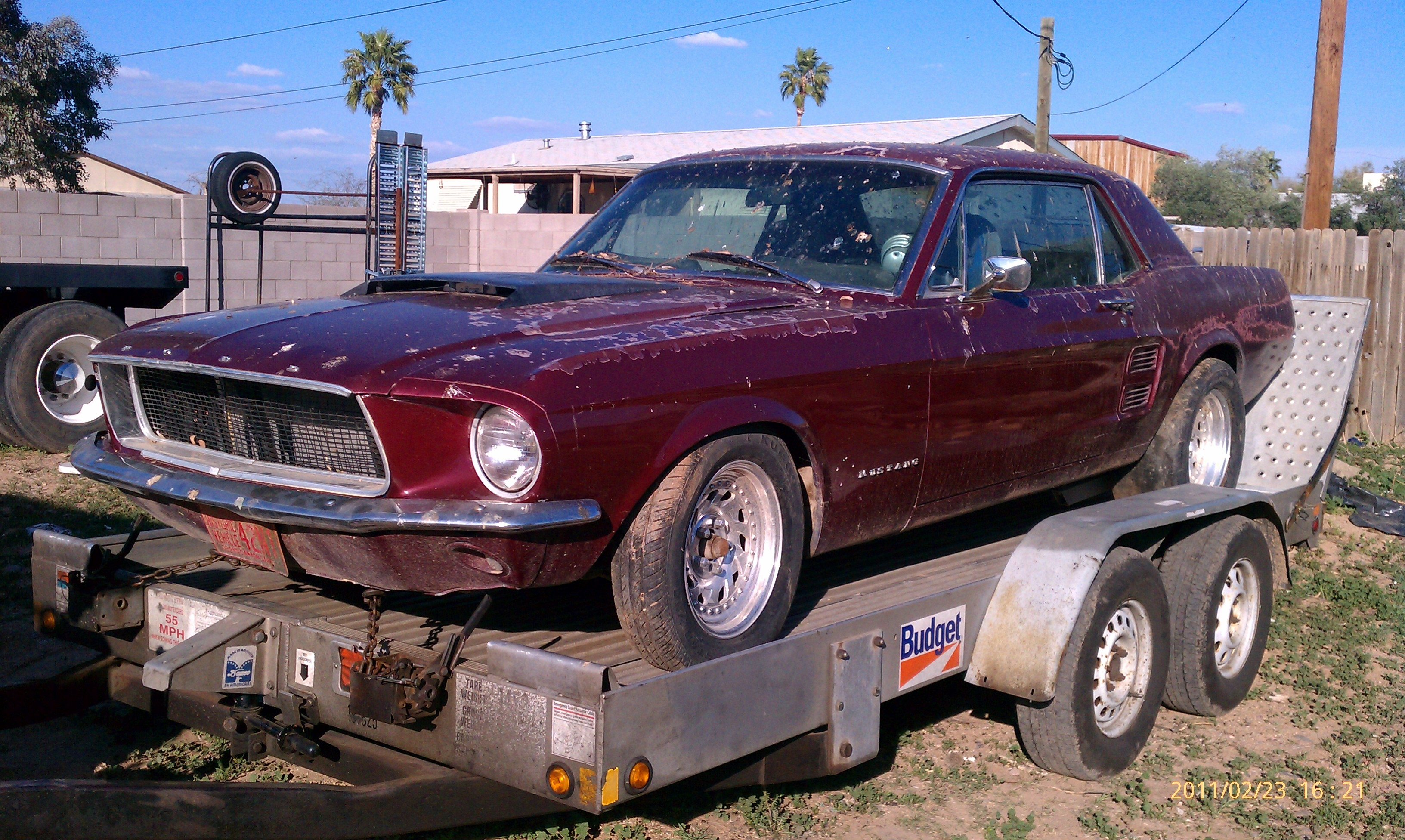 Another BlkBullet_Racing 1967 Ford Mustang post... - 15036243