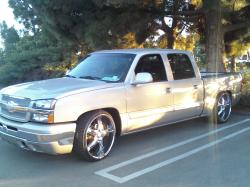 5150Kreationss 2005 Chevrolet Silverado 1500 Crew Cab