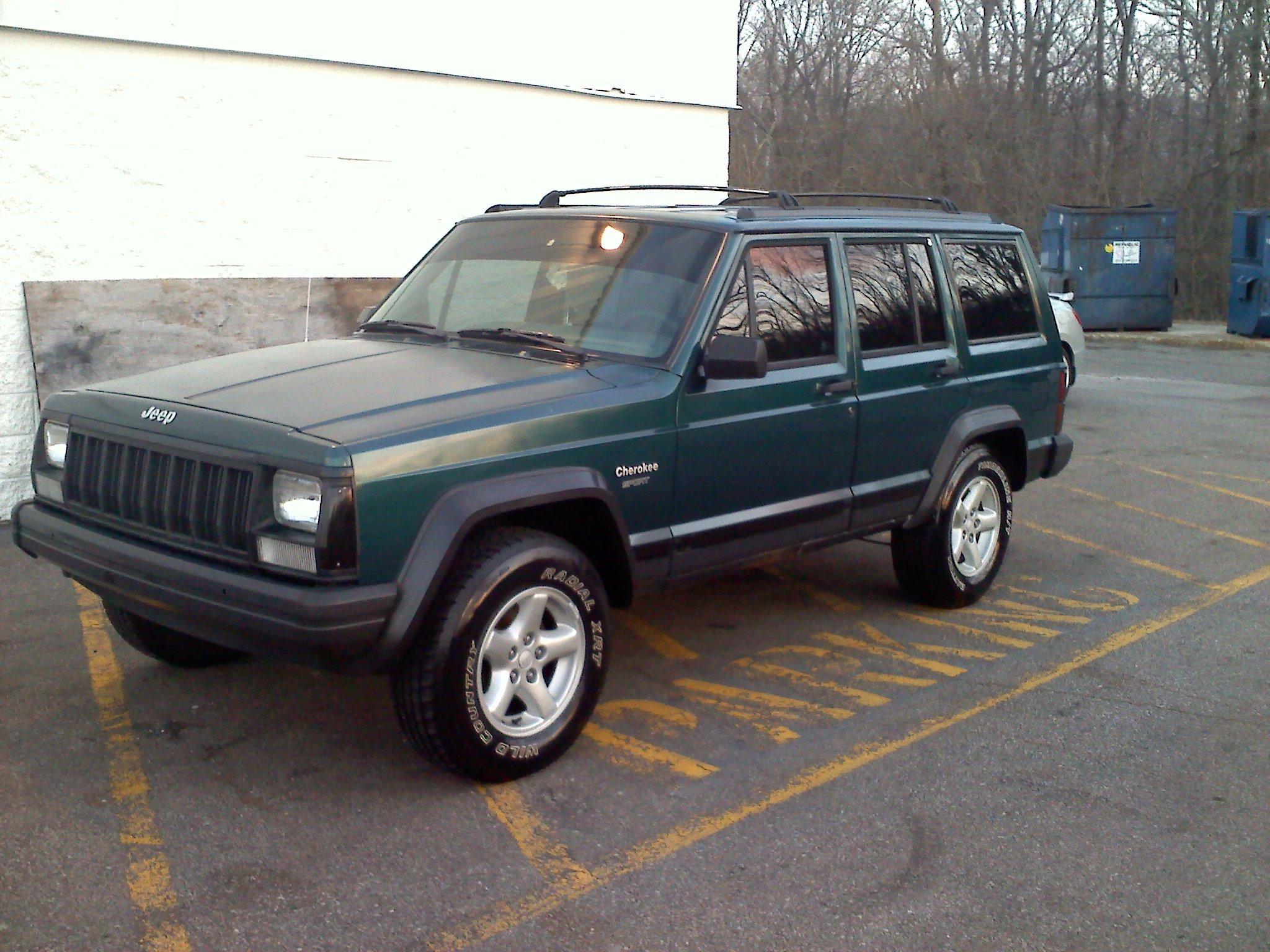 mowglijjg 1995 jeep cherokee specs photos modification info at cardomain. Black Bedroom Furniture Sets. Home Design Ideas