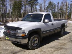 DAWALL84 2000 Chevrolet Silverado 2500 Regular Cab