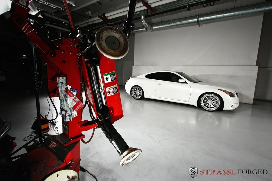 Another Strasse_Forged 2008 Infiniti G post... - 15045062