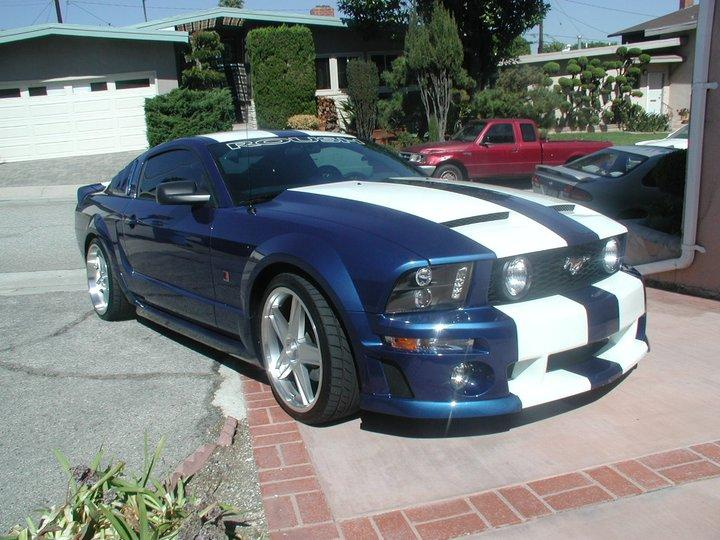 ford mustang 2006 hp