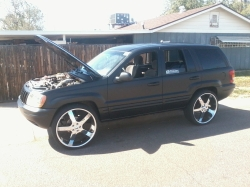 cleanwjs 2000 Jeep Grand Cherokee