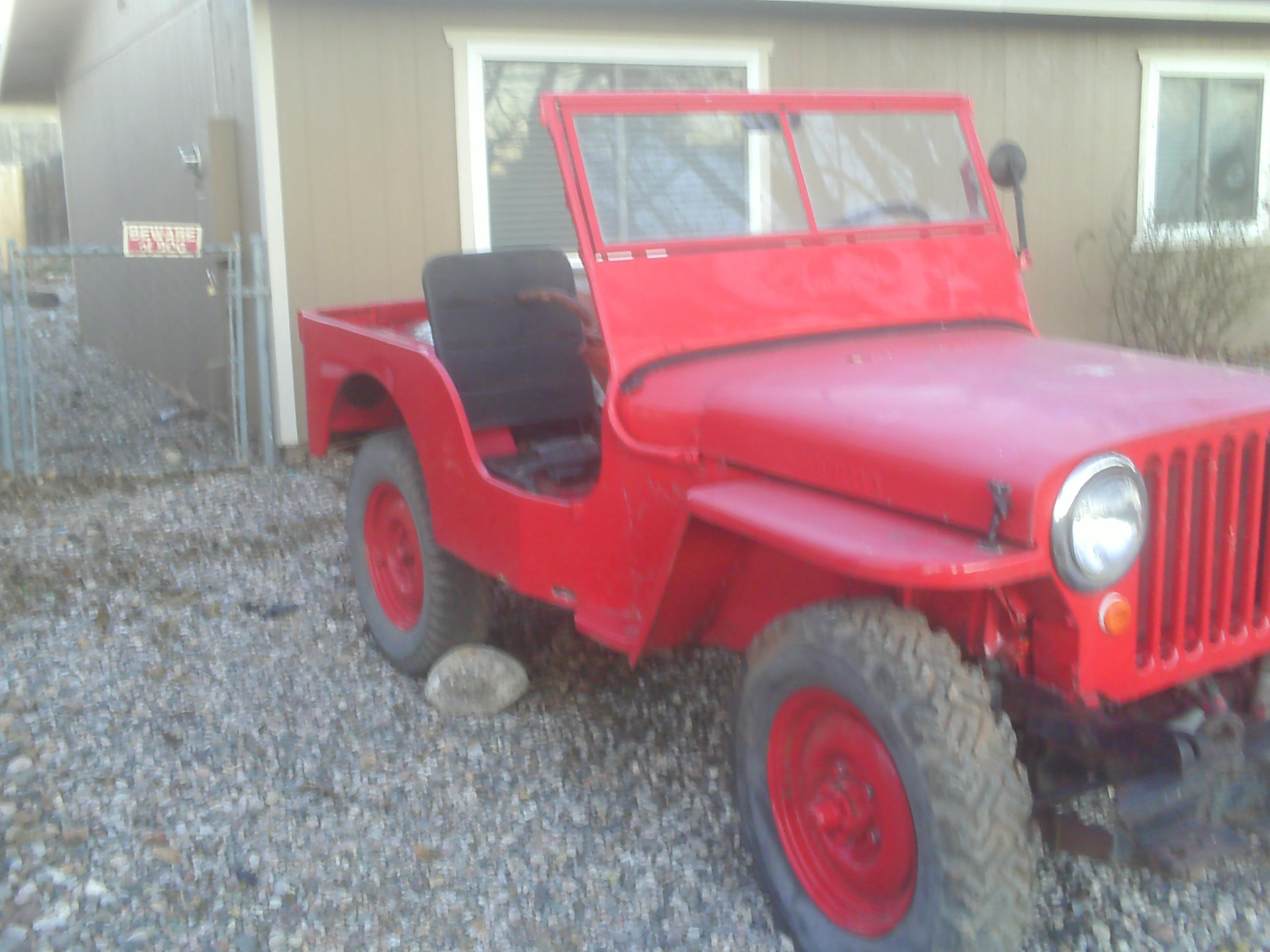 Another wootfepp 1947 Willys CJ2A post... - 15051395