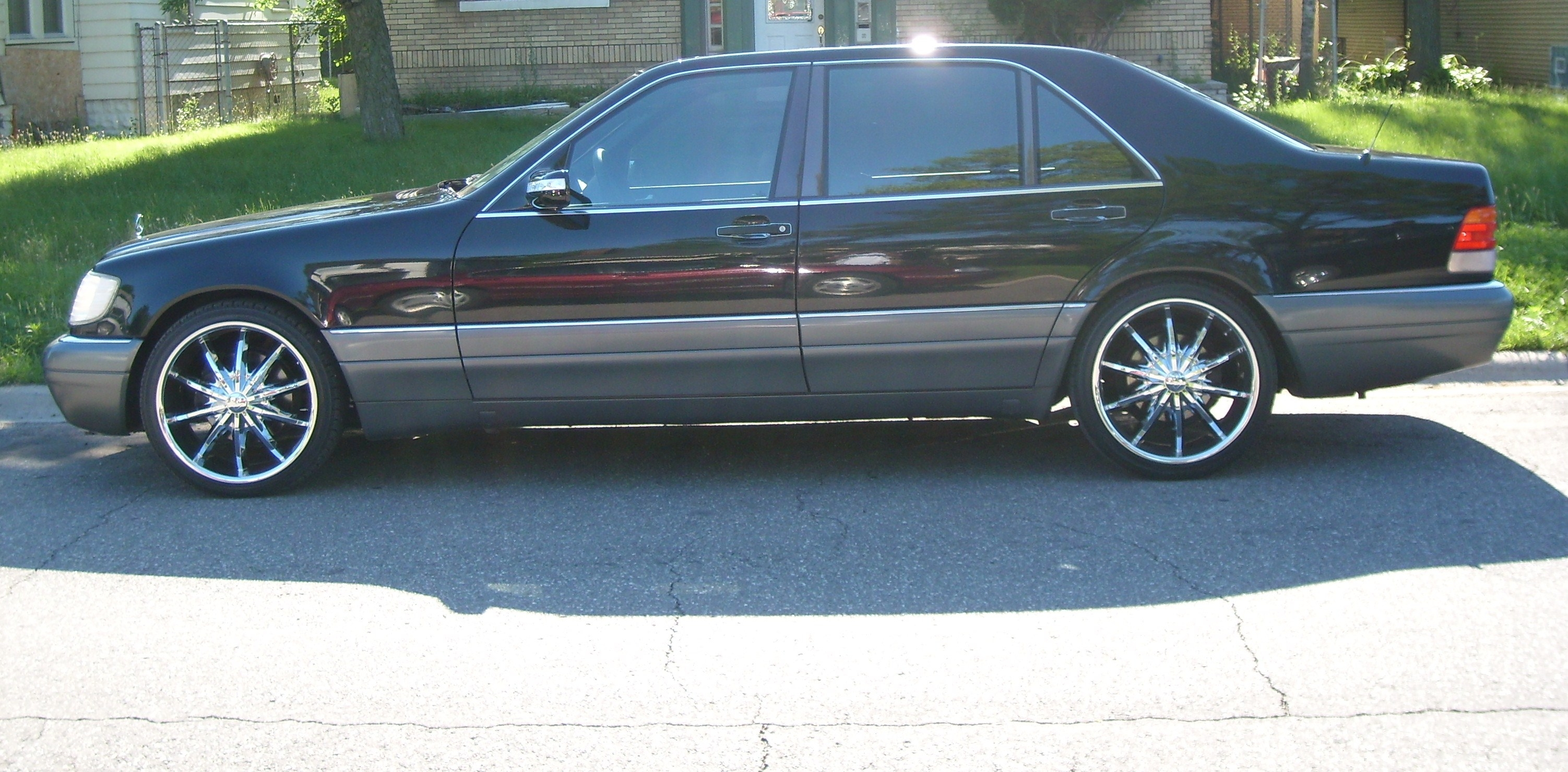 Mercedes s class 1996 the image kid has it for 1996 mercedes benz s500
