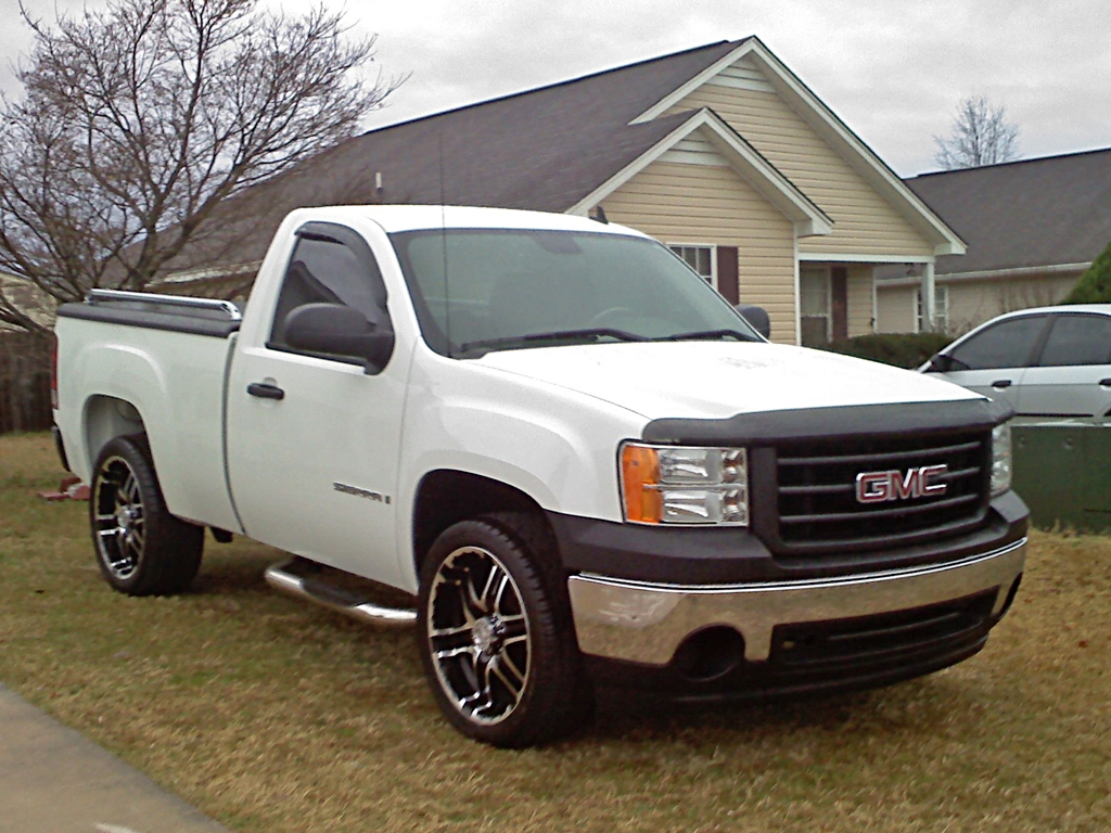 Gp Se 2008 Gmc Sierra 1500 Regular Cabwork Truck Pickup 2d
