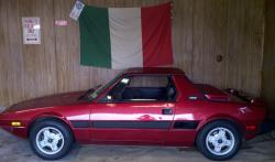 mags 1987 Fiat X1/9