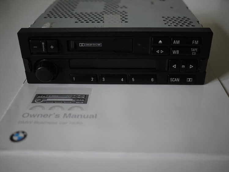 Z3 E36 7 Fs Factory Bmw C33 Radio Tape Deck W User