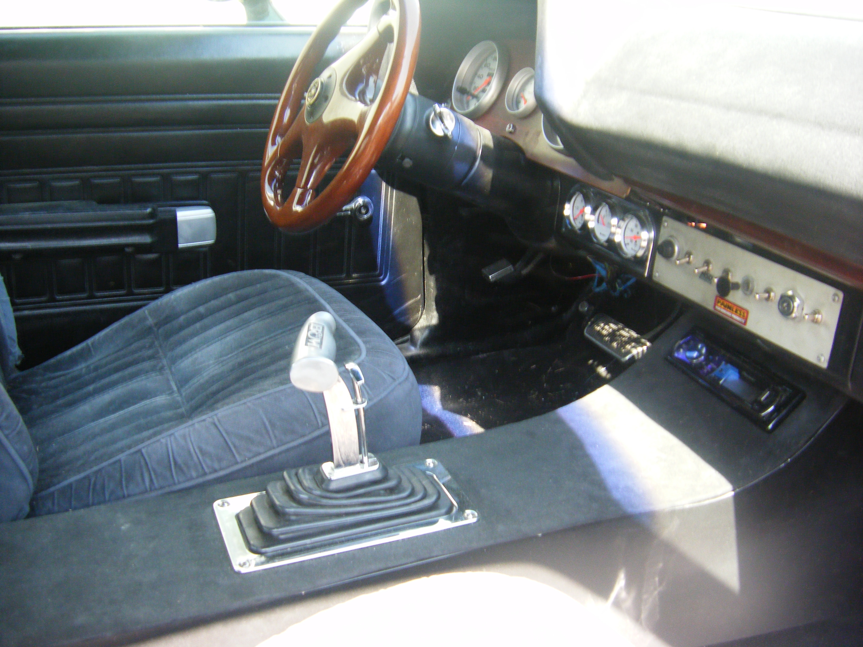 Another Gijoes 1971 Mercury Montego Post2773445 By Painless Fuse Box Back Custom Dash Console Bm Shifter Pioneer Car Stereo 2 Kicker 6x9s Pannel
