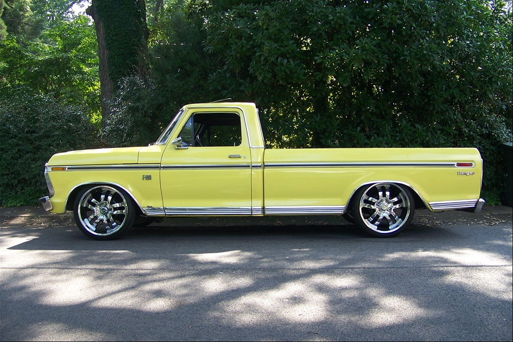 "1973 Ford F150 Regular Cab ""Big Bird"" - Eden, NC owned by 1973fordf100"