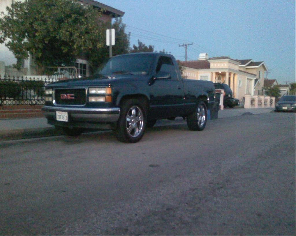 old this is my 1995 gmc