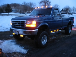 95f250lifted 1995 Ford F250 Regular Cab