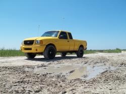 01BananaEdges 2001 Ford Ranger Super Cab