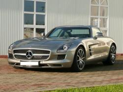 drewtied60 2010 Mercedes-Benz SLS