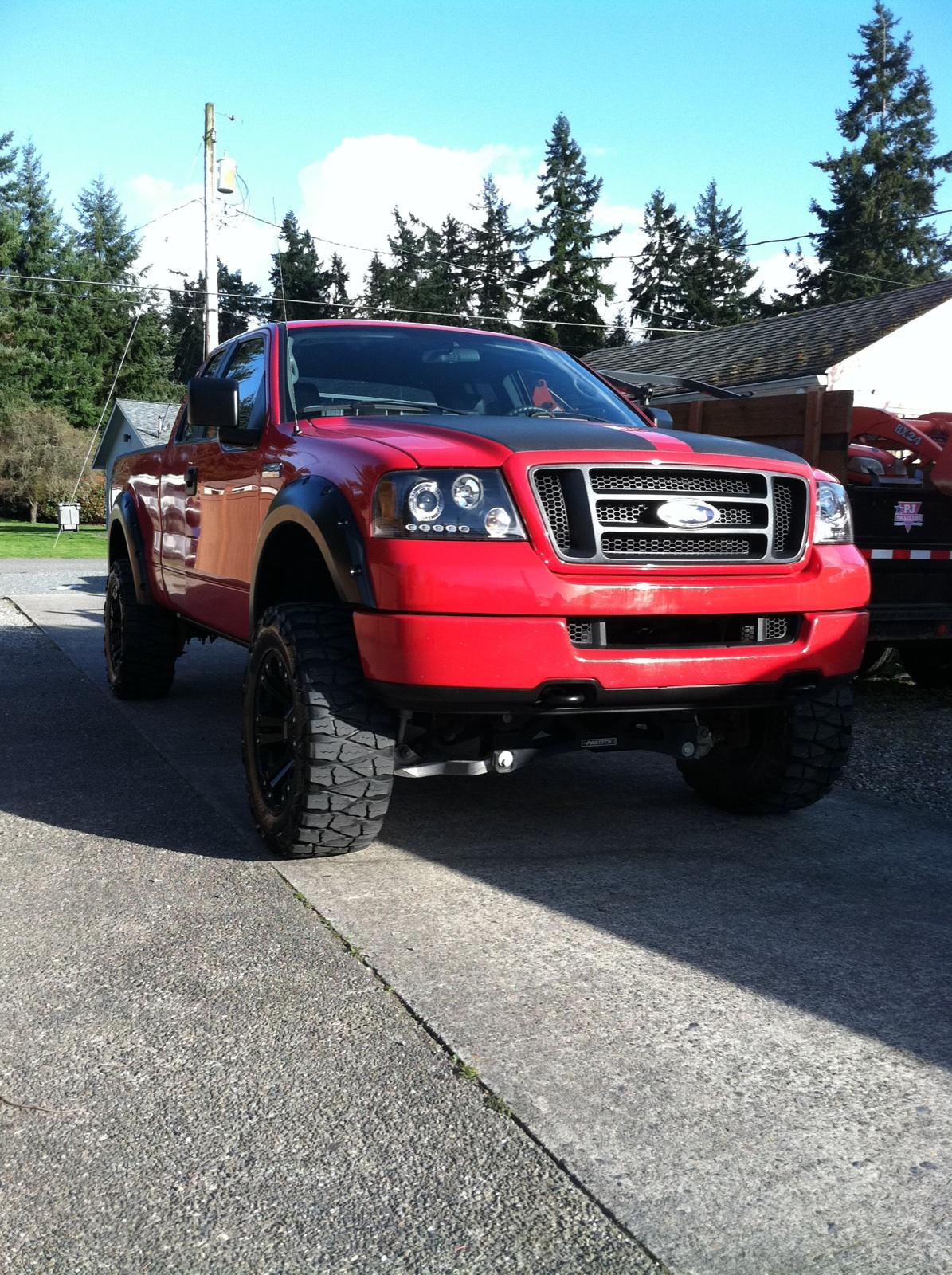 lieferson 2005 ford f150 super cabstx styleside pickup 4d 6 1 2 ft specs photos modification. Black Bedroom Furniture Sets. Home Design Ideas