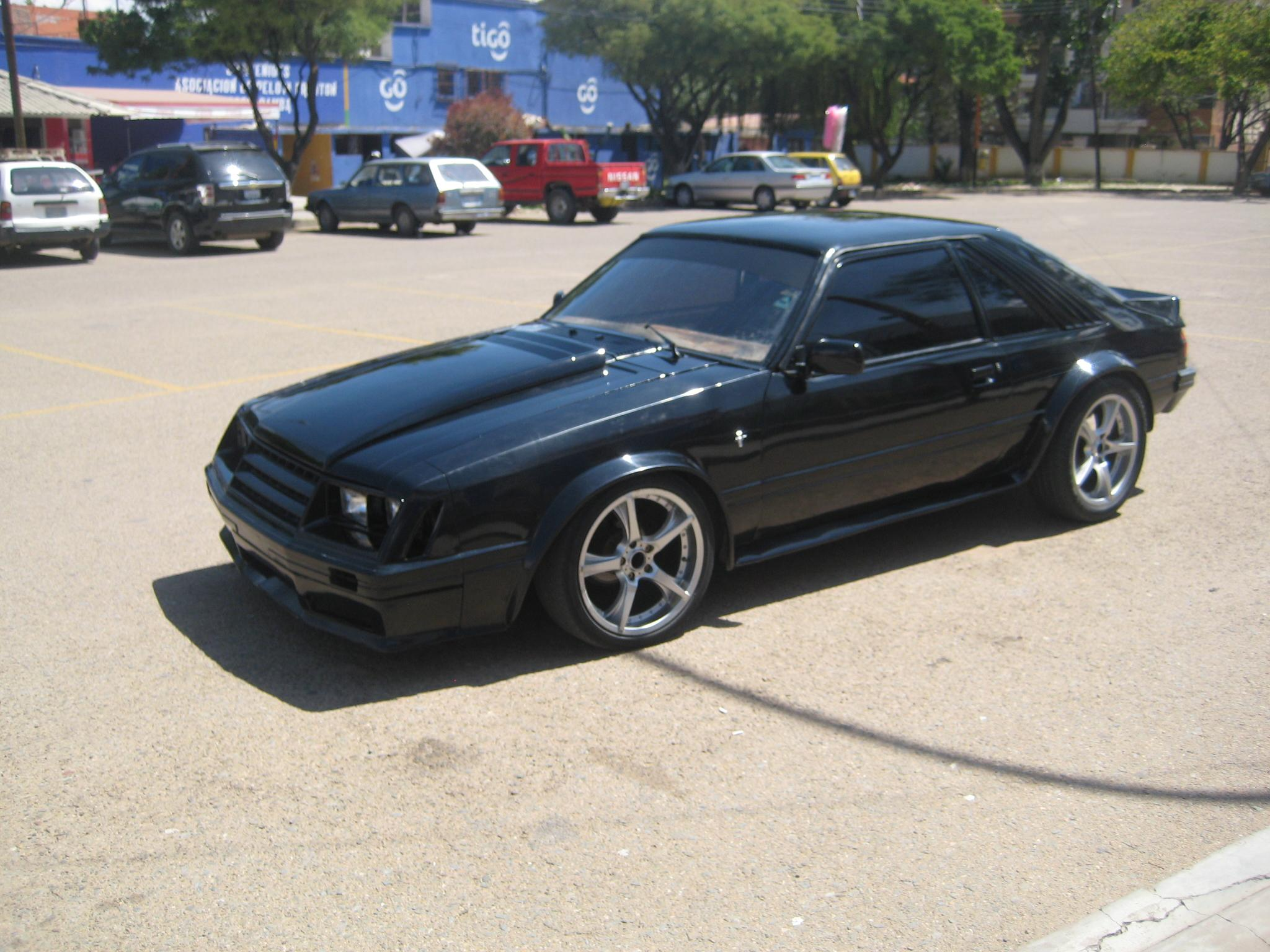 Guichi10s 1980 ford mustang in cochabamba car wallpaper