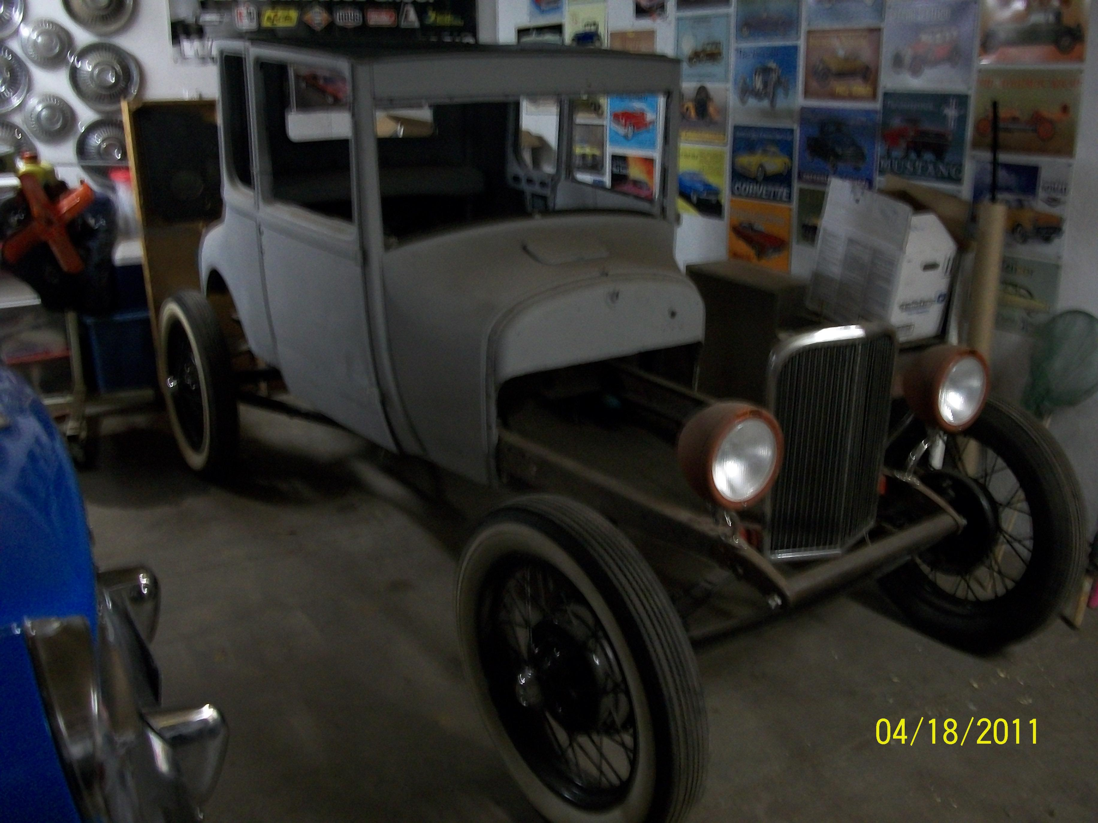 ford model t specifications