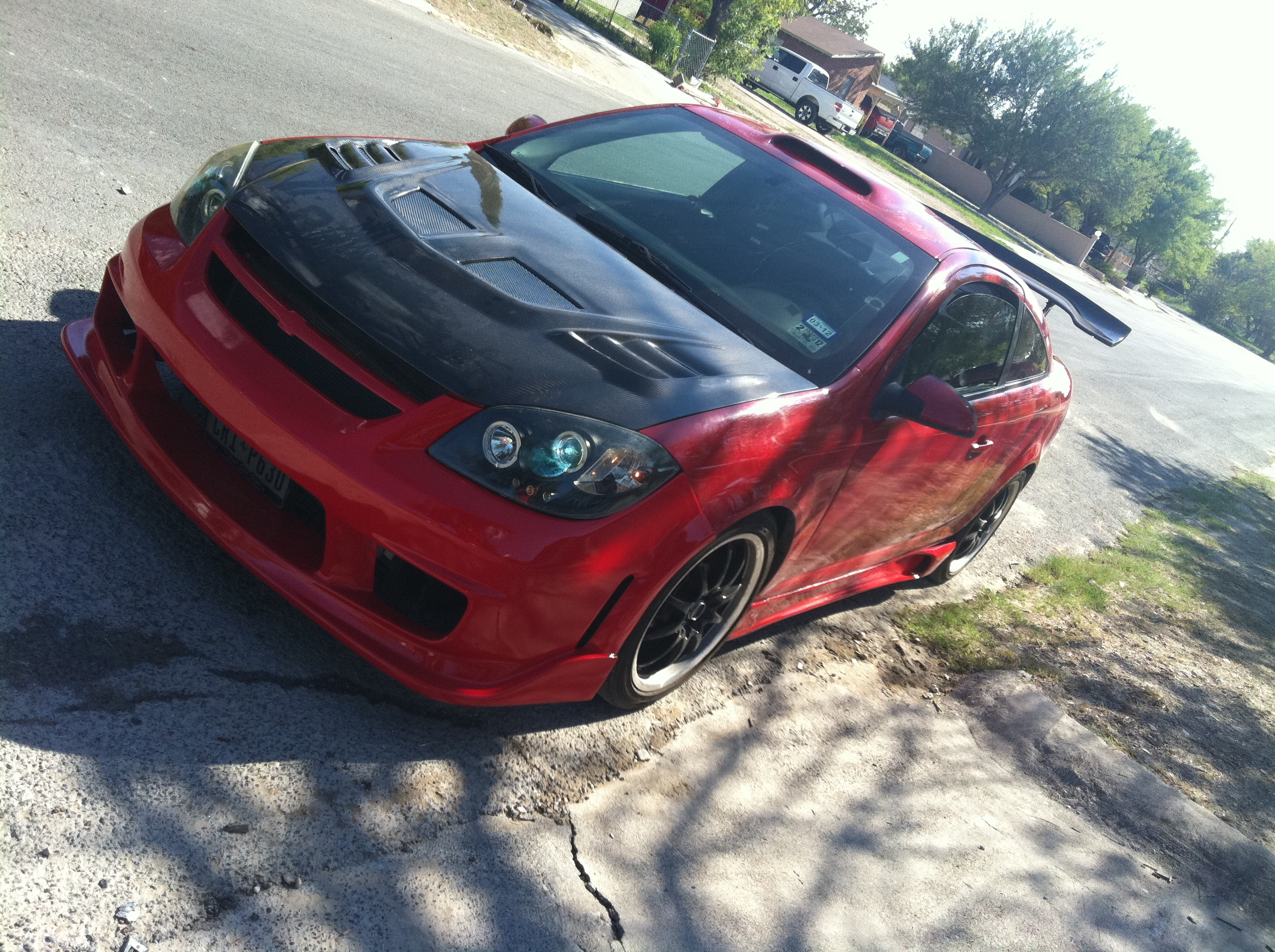 junior_reyez 2007 pontiac g5coupe 2d specs, photos, modification Wrecked Red Pontiac G5 junior_reyez 2007 pontiac g5