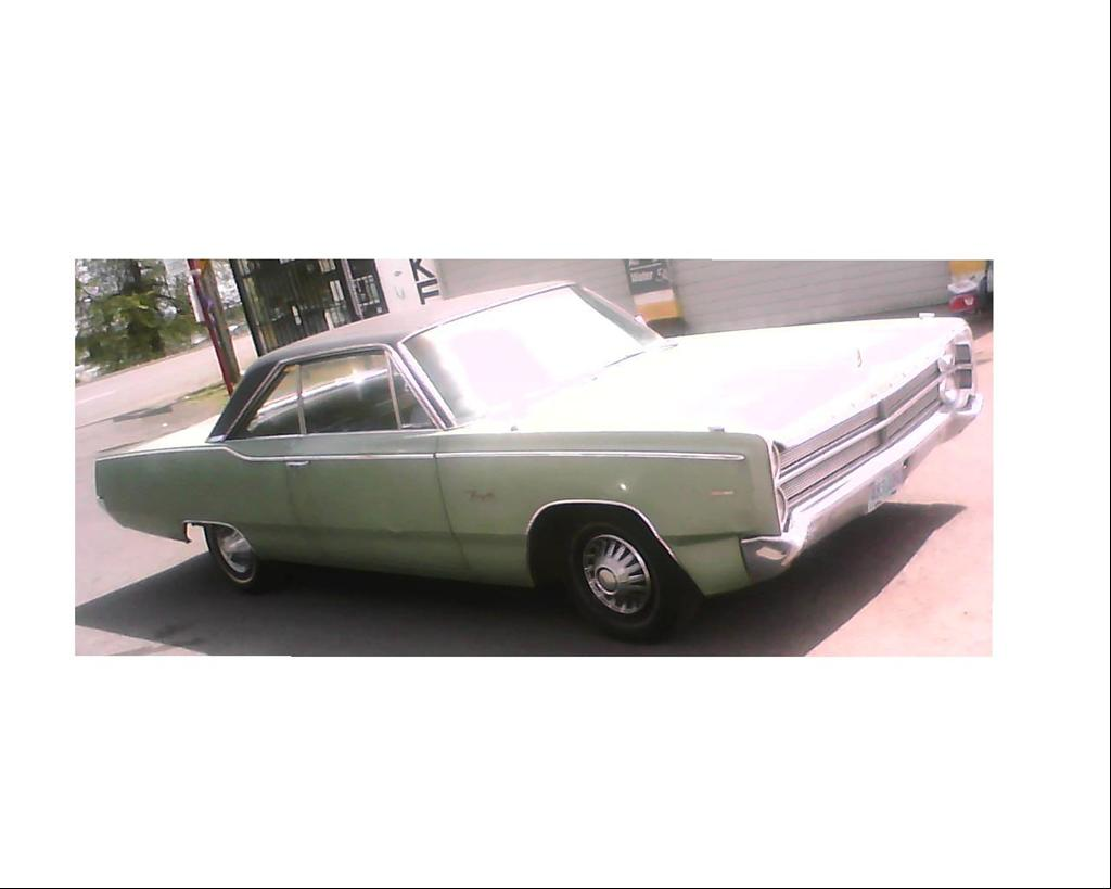 DoctorWho's 1967 Plymouth Fury