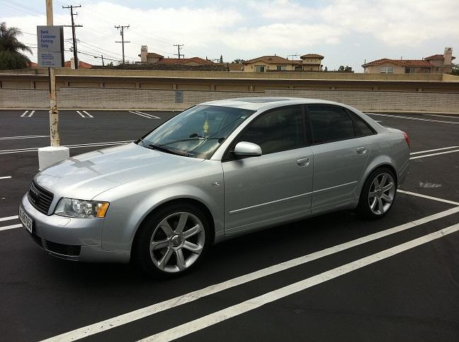 codiac 2003 audi a41 8t quattro sedan 4d specs photos. Black Bedroom Furniture Sets. Home Design Ideas