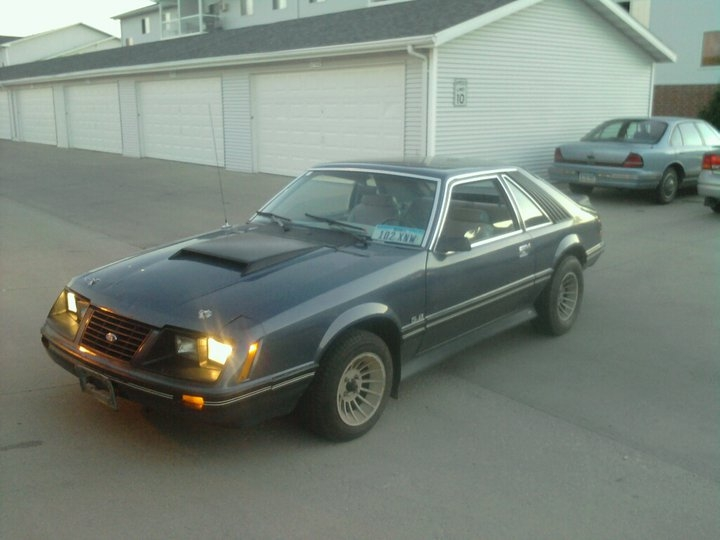 NOTa302 1983 Ford Mustang 15102647
