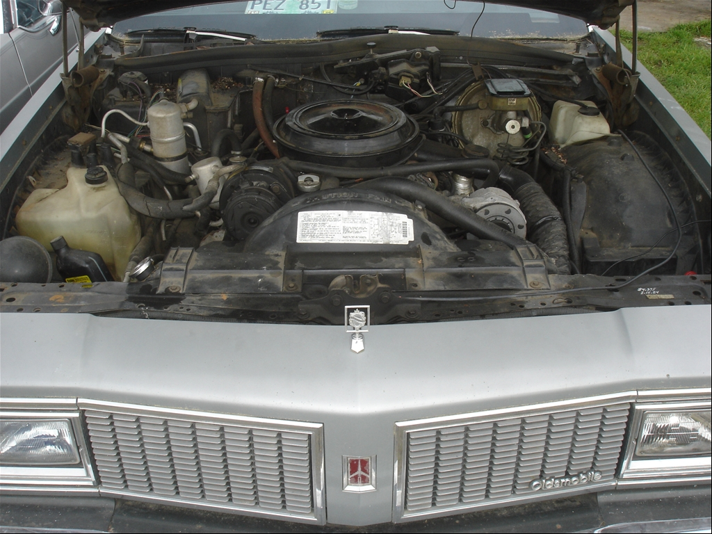 307 ci Oldsmobile Rocket V8 -