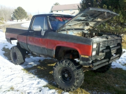 squirmychevy 1986 Chevrolet C/K Pick-Up